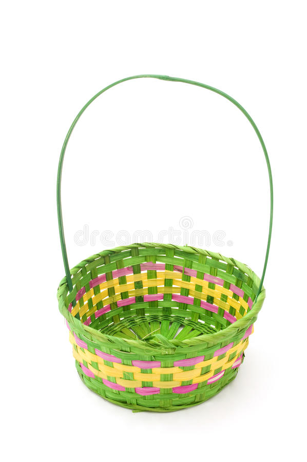 Download Empty Easter Basket Stock Image Of Handle April