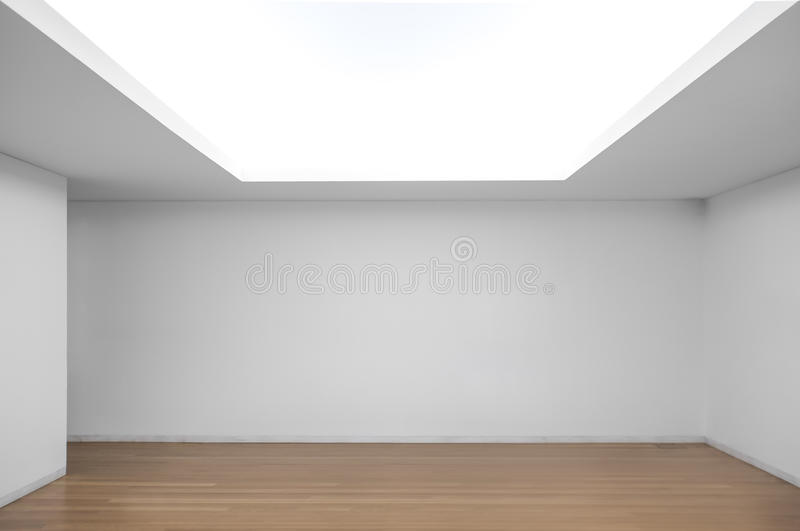 Empty exhibition space royalty free stock photography
