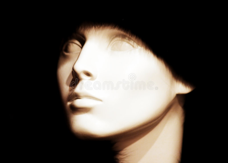 Download Empty Eyes stock photo. Image of portrait, statue, lady - 144444
