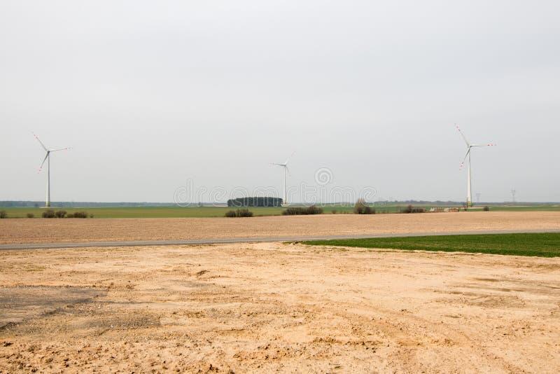 Empty farmland before planting crops royalty free stock photo