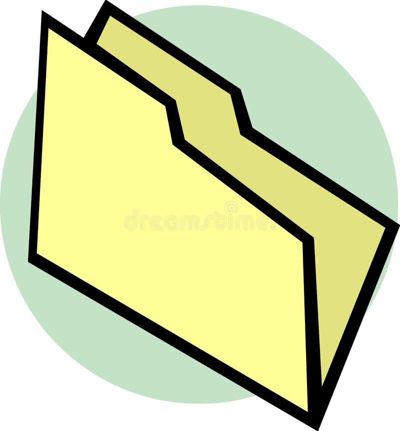 Download Empty File Folder Vector Illustration Stock Vector - Image: 10076391