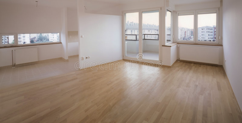 Empty flat stock photo
