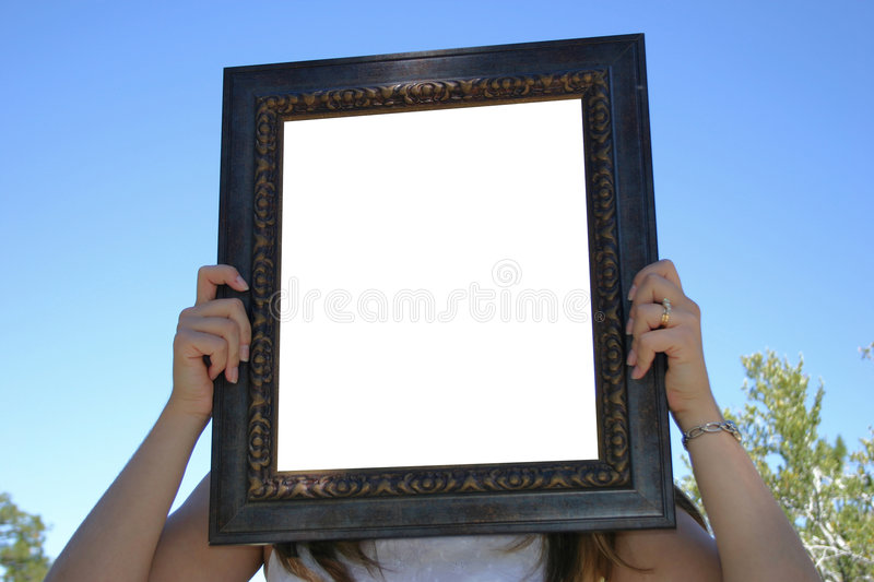 Download Empty Frame stock photo. Image of space, frame, white, hold - 8702