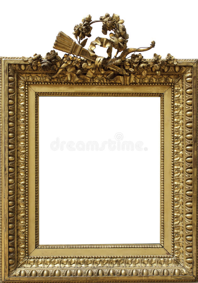 download empty frame stock photo image of boundary image baroque 35605098 - Empty Frame