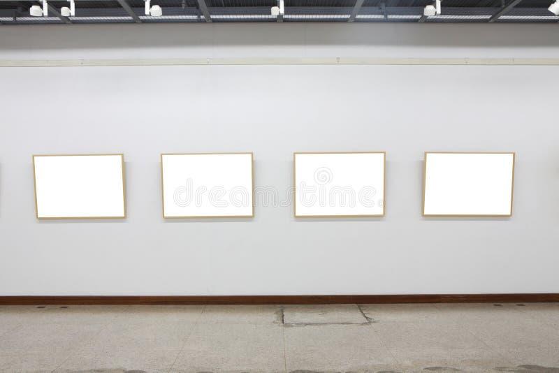 Empty frames stock photography