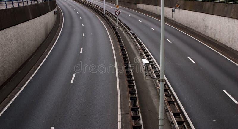 Empty Freeway Royalty Free Stock Photography