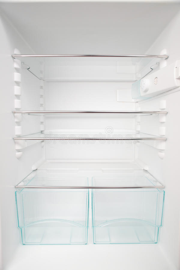 Download Empty Fridge stock photo. Image of modern, refrigerate - 13105670