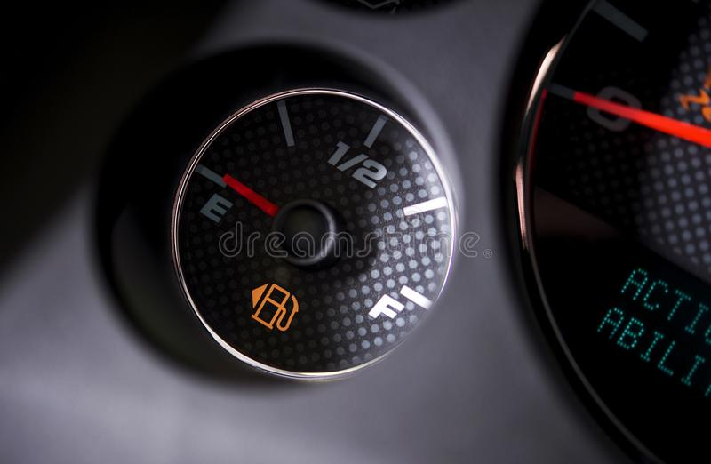 Empty Gas Tank stock image  Image of automobile, display
