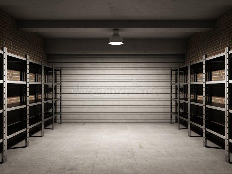 Download Empty garage stock illustration. Illustration of design - 22362948