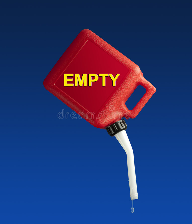 Download Empty gasoline can stock illustration. Image of letters - 8788310