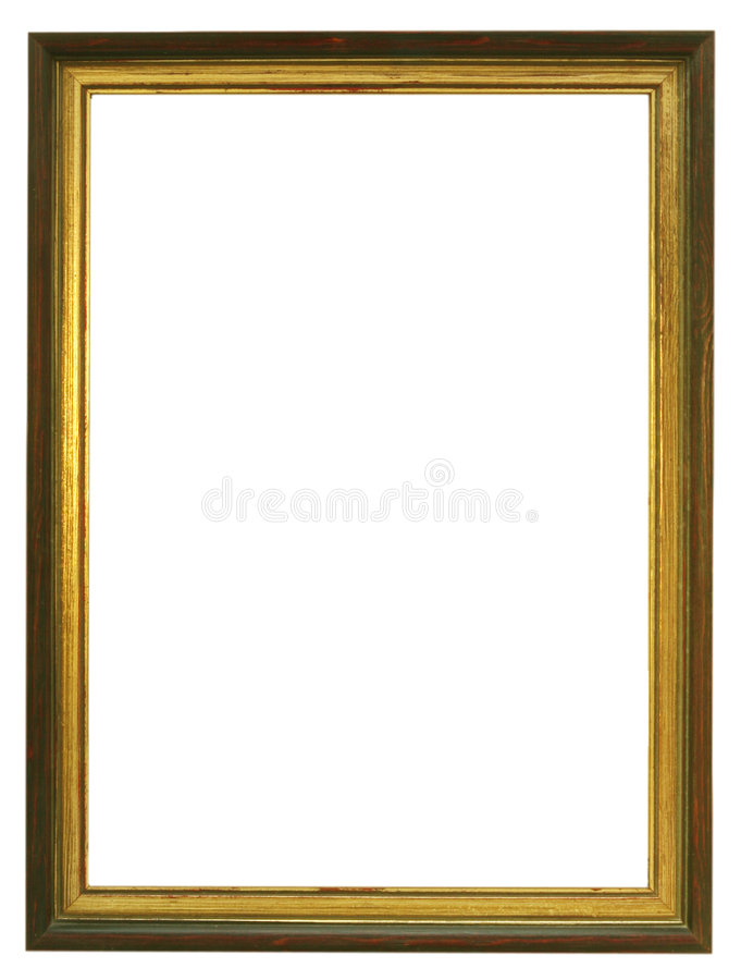 Download Empty Gilded Wooden Frame stock image. Image of empty - 2360047