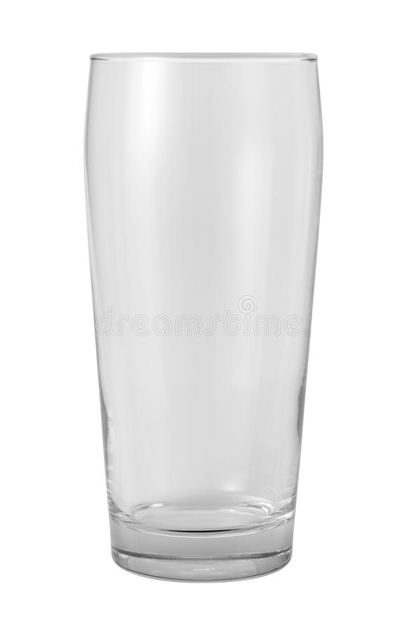 Download Empty Glass Isolated With Clipping Path Stock Photo - Image: 27696346