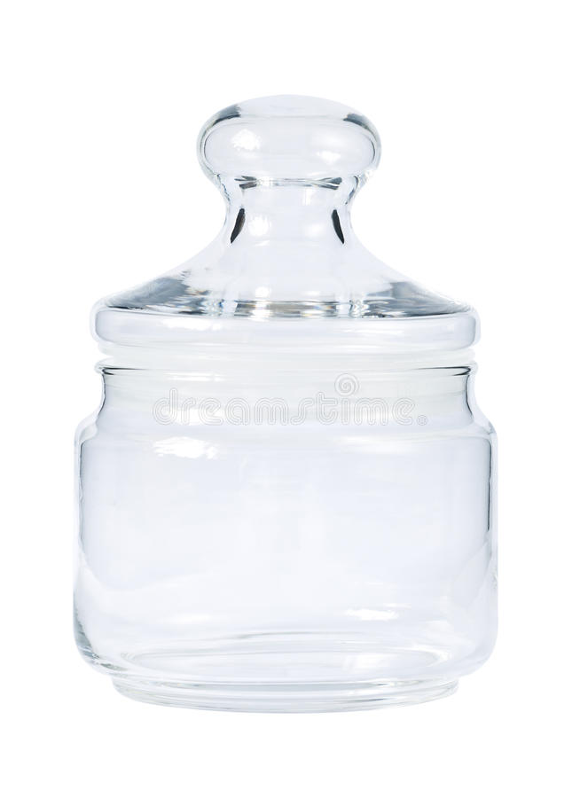 Download Empty Glass Jar For Spice Royalty Free Stock Photos - Image: 20327298