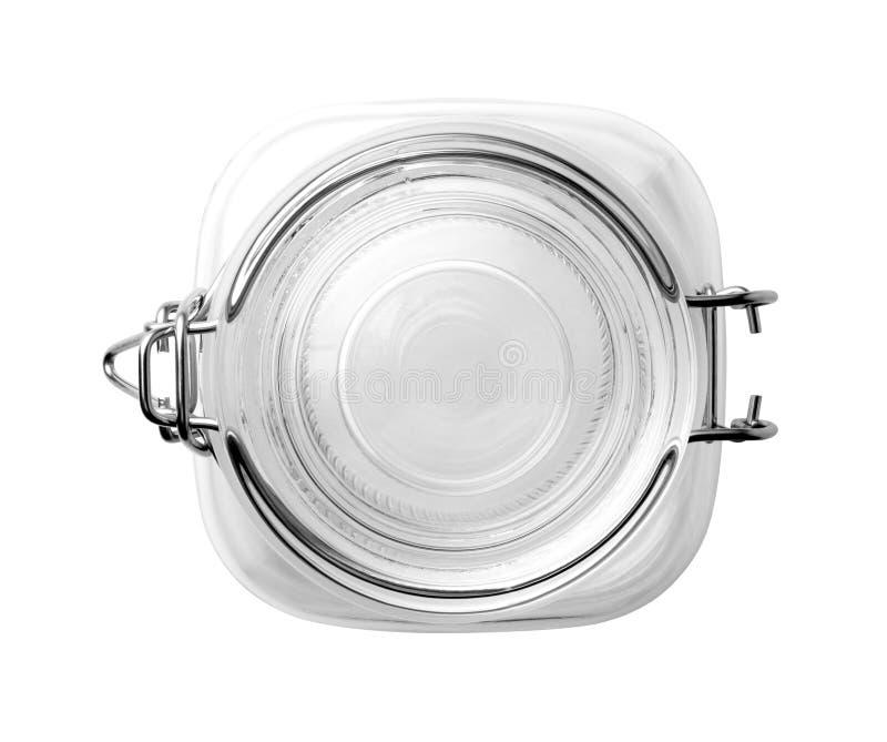 empty glass jar royalty free stock photography