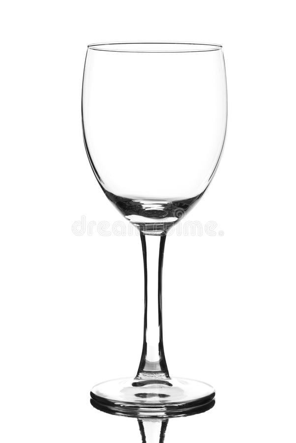 Free Empty Glass Of Wine Royalty Free Stock Images - 12668979