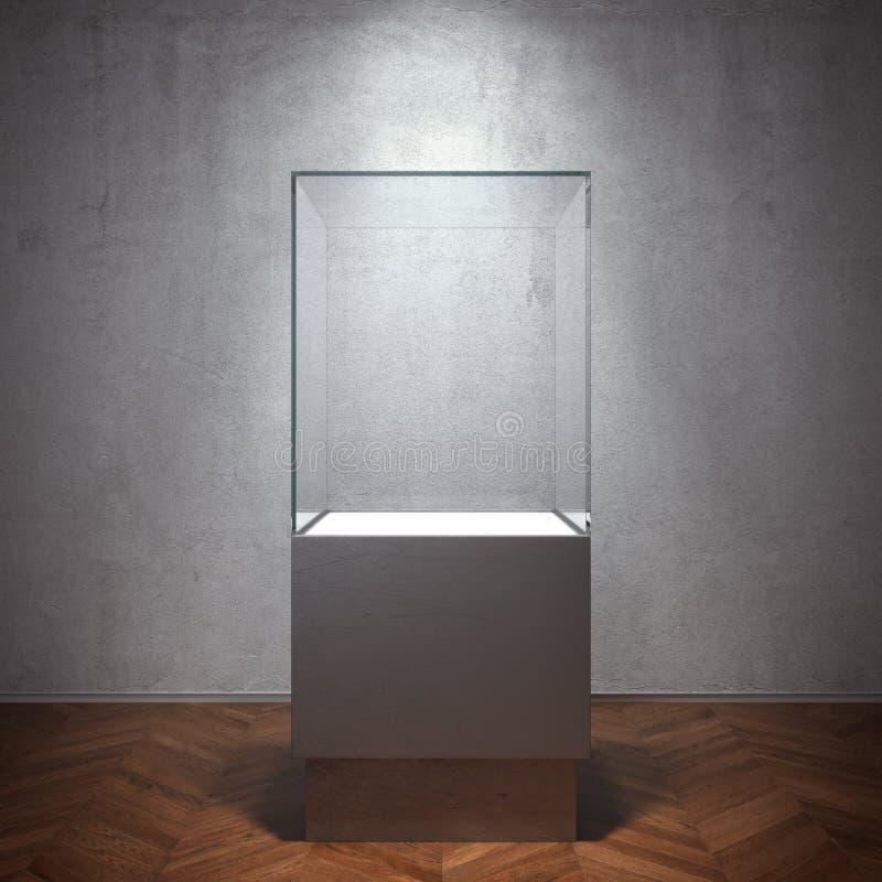 Free Empty Glass Showcase For Exhibit Royalty Free Stock Photos - 50580808