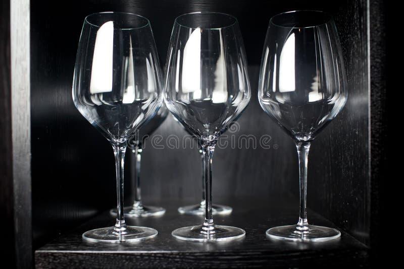 Download Empty Glasses Set In Restaurant Stock Image - Image: 24892081