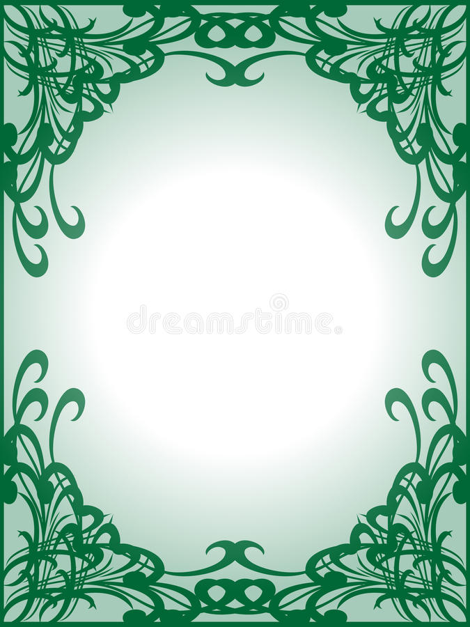 Download Empty Green Frame Background Stock Photos - Image: 11272973