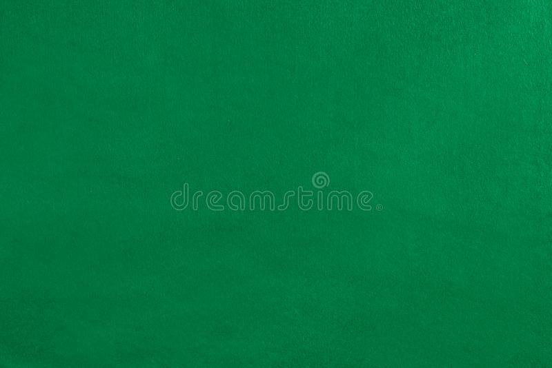 Empty green velvet cover. On the pool table royalty free stock images