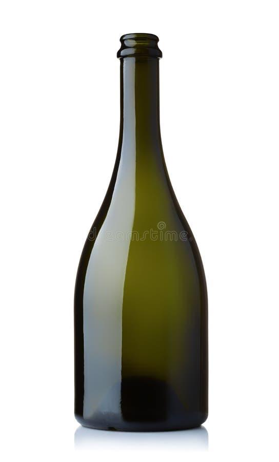 Free Empty Green Wine Bottle Royalty Free Stock Image - 130674466