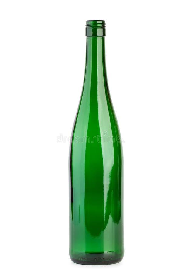 Free Empty Green Wine Bottle Royalty Free Stock Photos - 32916028