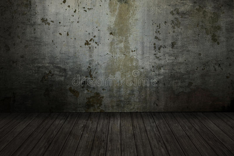 Empty grunge room royalty free stock photography