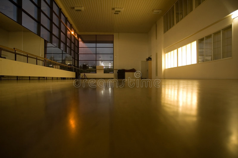 Empty Gym royalty free stock photo