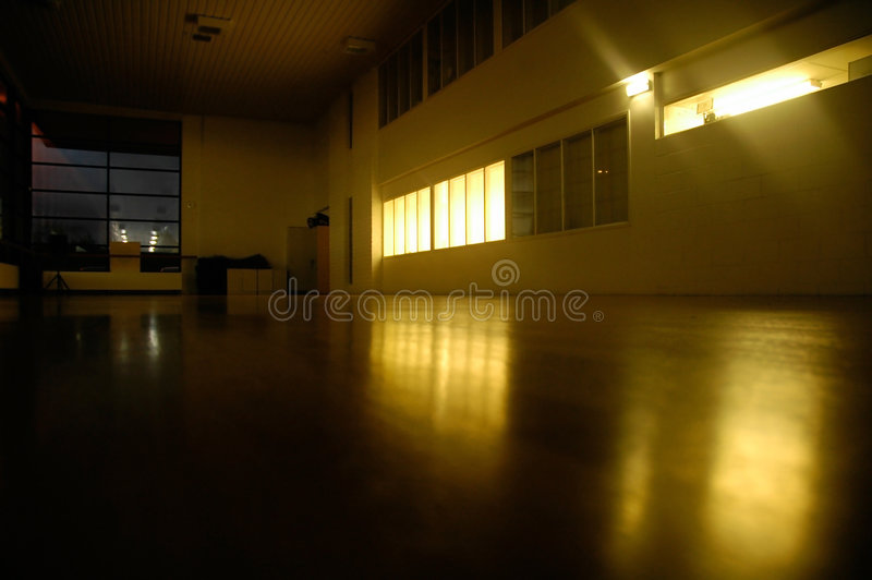 Empty Gym royalty free stock photos