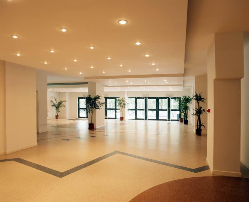 Empty hall. stock photo