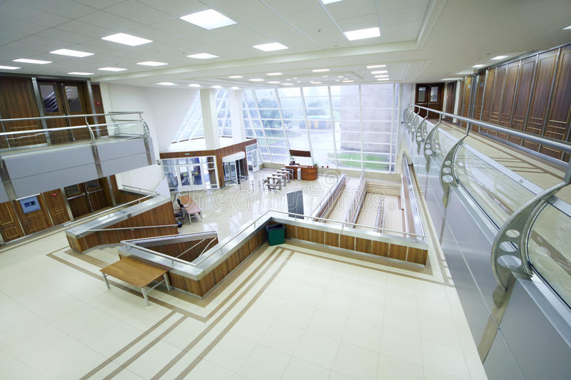Empty hall in MGIMO royalty free stock image