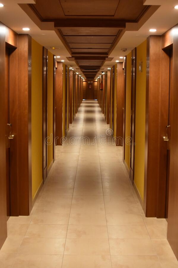 Empty Hallway stock photography