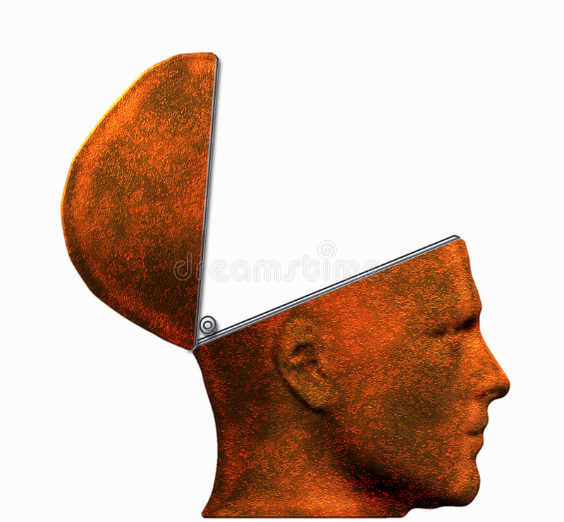 Download Empty Head stock illustration. Image of technology, head - 5728330