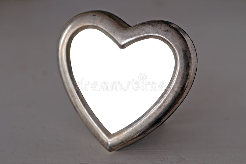 Empty Heart Shaped Photo Frame
