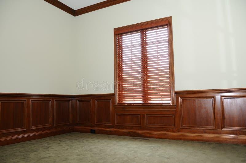 Empty Home Office Den royalty free stock photos
