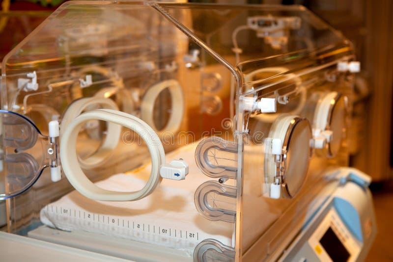 Empty incubator