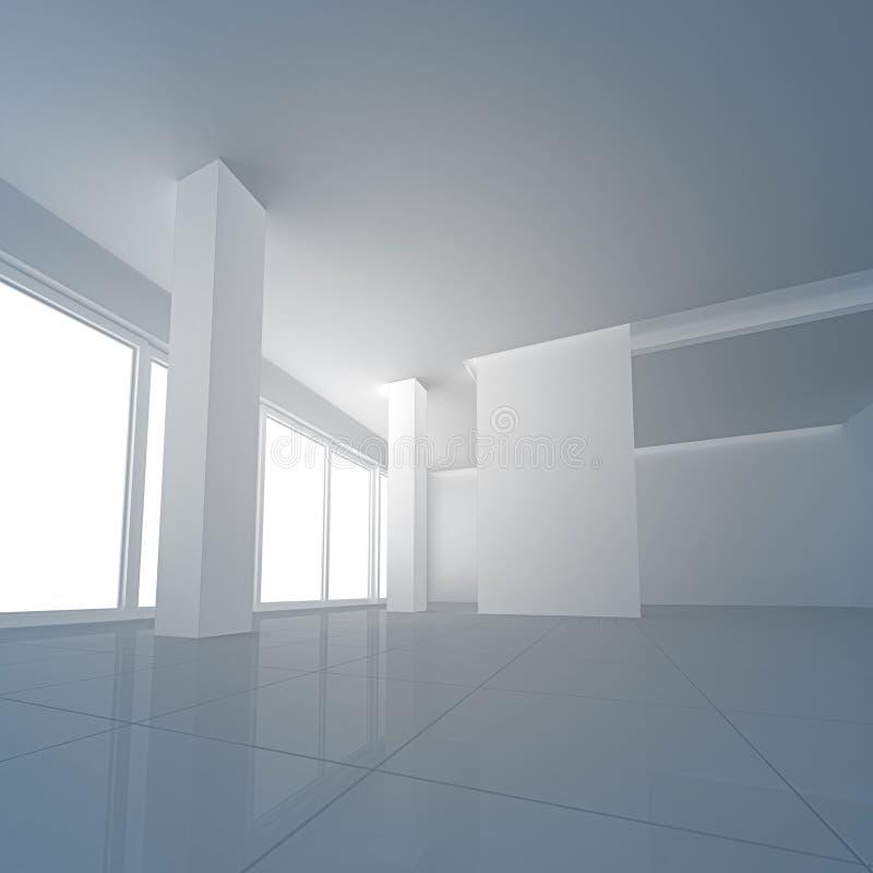 Empty interior stock photography