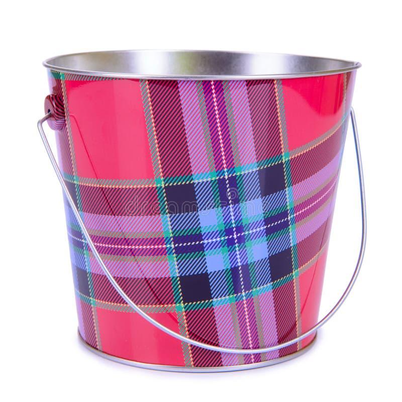 Download Empty iron bucket stock photo. Image of metal, shiny - 33664274
