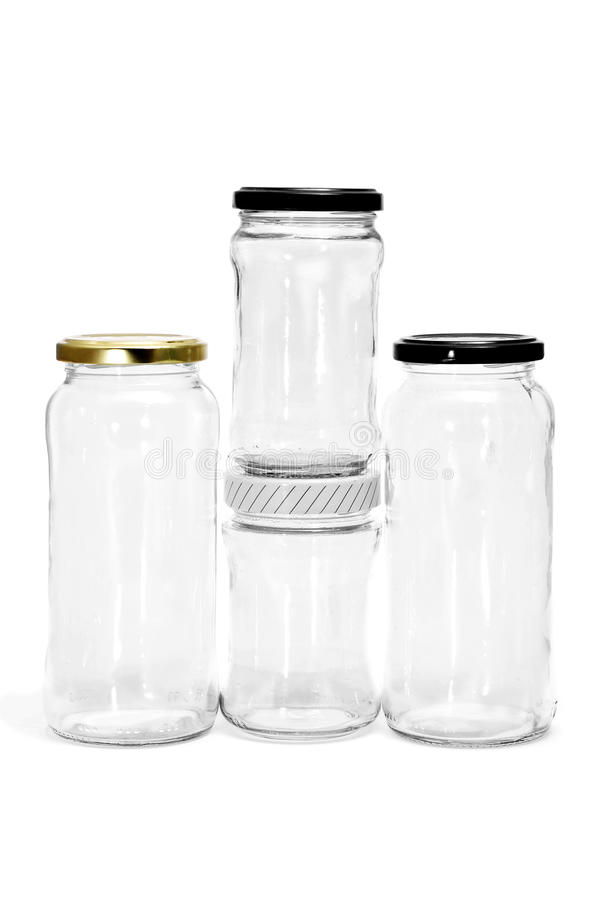 Download Empty jars stock image. Image of fragile, food, containers - 17788469