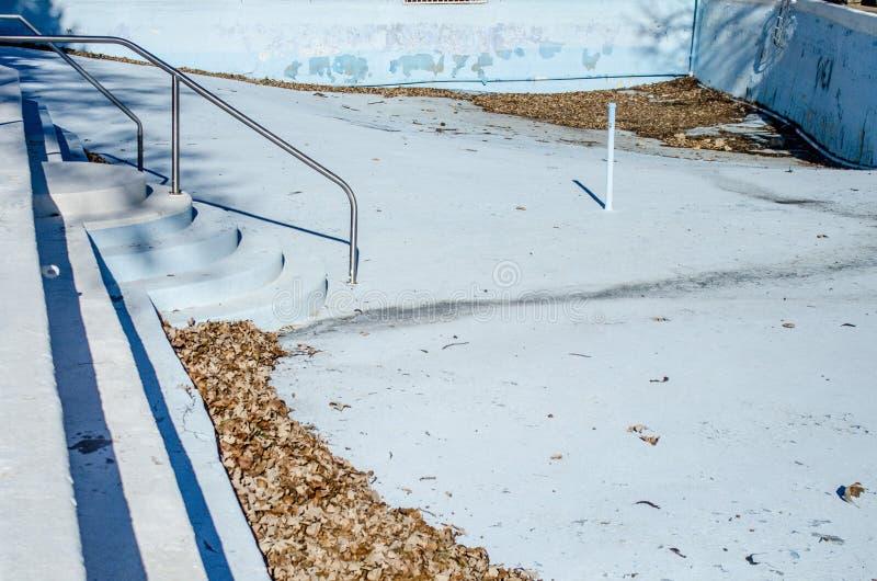 Empty large swimming pool stock image