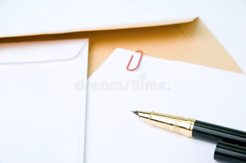 Download Empty letter stock photo. Image of letter, clip, correspondence - 25467904