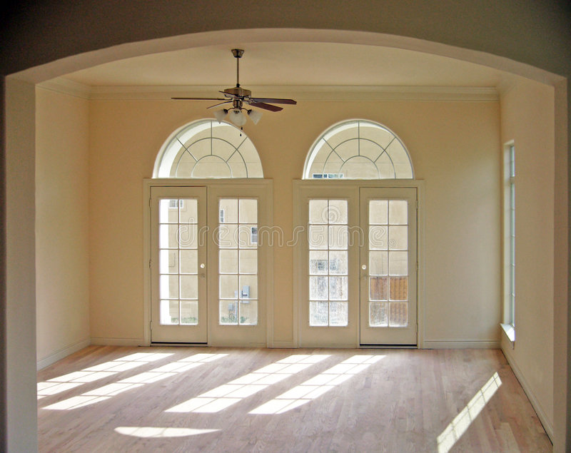 Empty Living Room royalty free stock photos