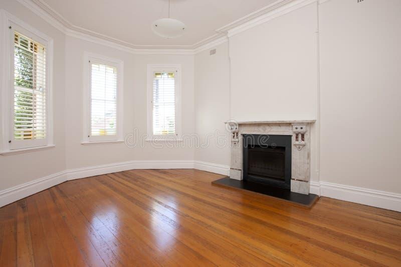 Empty Living Room Floor