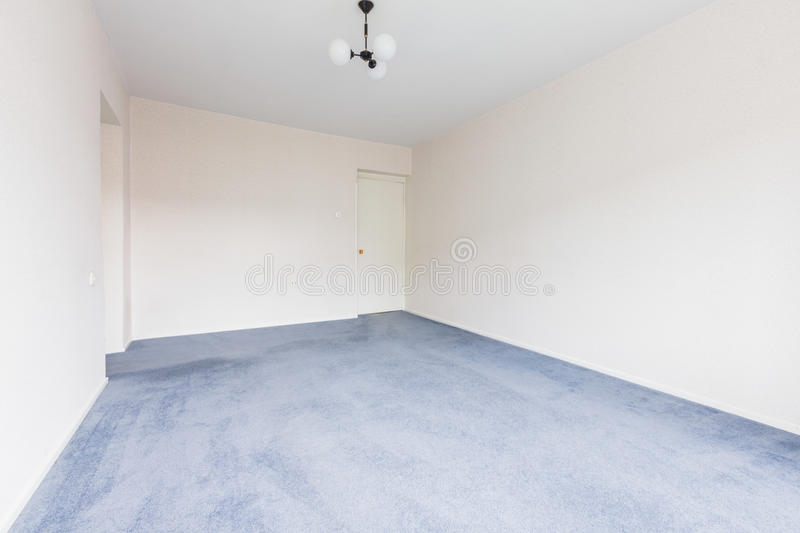 Empty Living Room stock photo