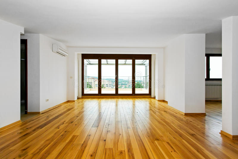 Empty living space royalty free stock photography