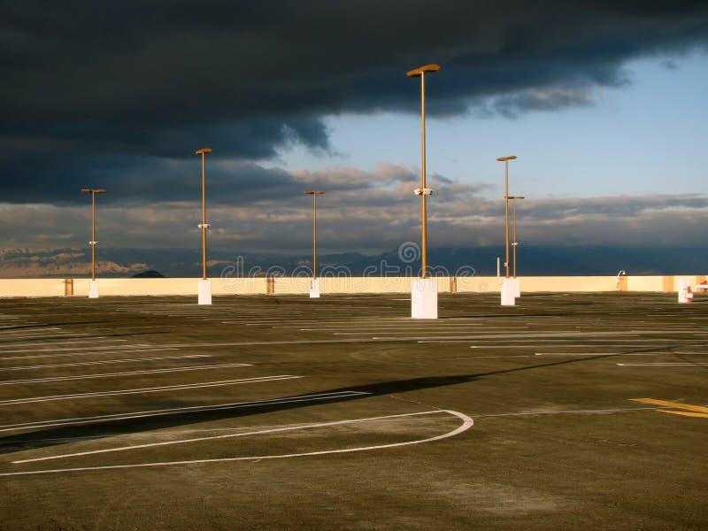 empty lot parking στοκ εικόνα