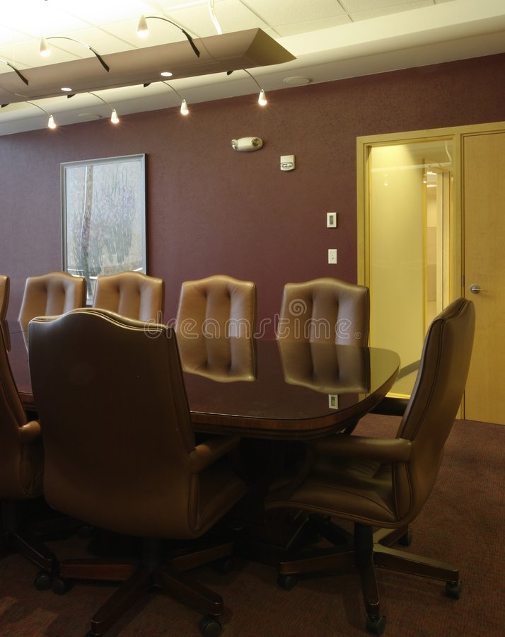 Empty meeting room - Commercial Boardroom stock photos