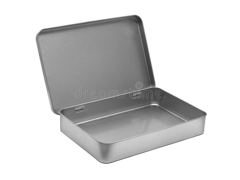Download Empty metal box stock photo. Image of container, deliver - 15471312