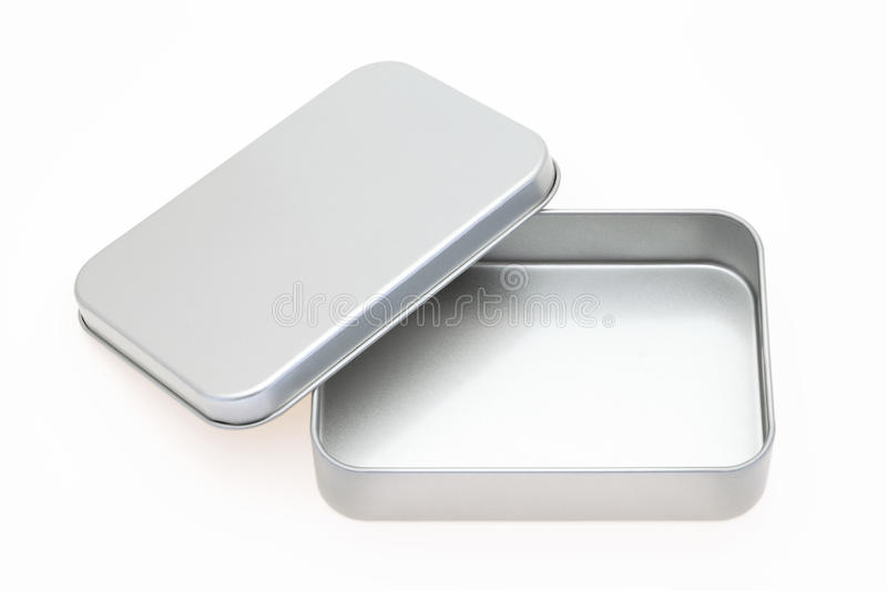 Empty metal box stock photos
