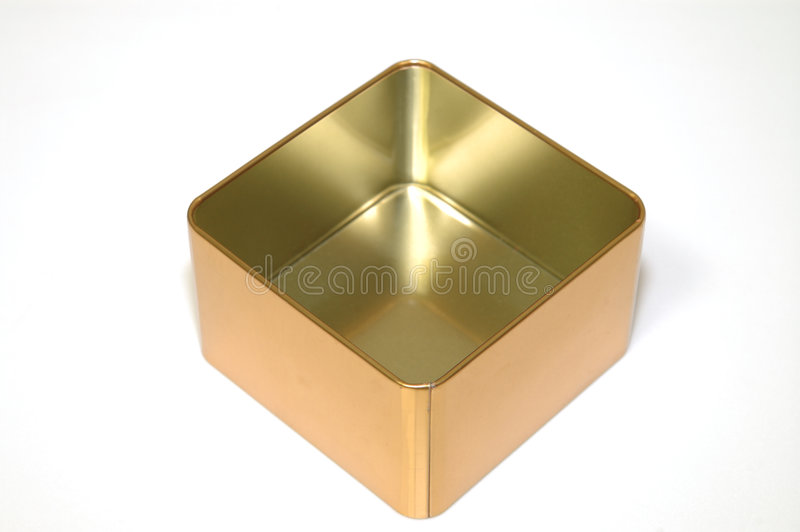 Download Empty metal box stock image. Image of gift, isolated, empty - 6979285