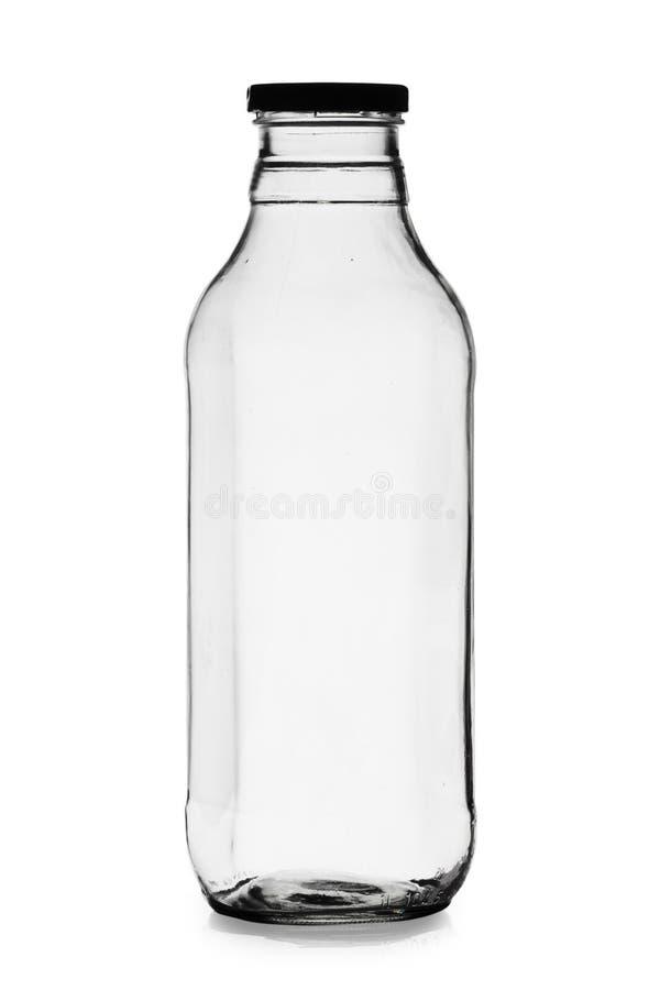Free Empty Milk Bottle Royalty Free Stock Images - 8254349